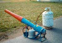 propane cannon